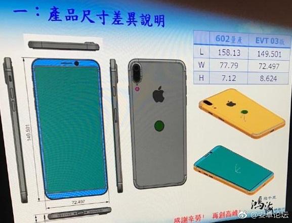 Tekeningen iPhone 8