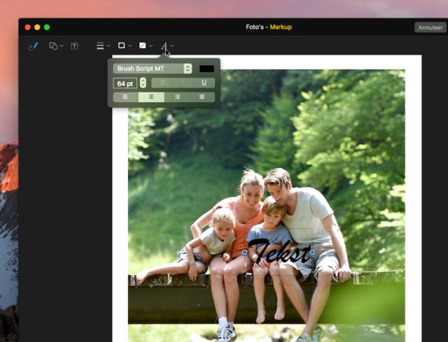 Foto's omzetten naar polaroid