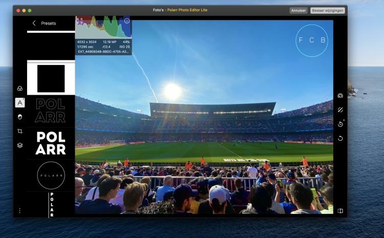 Extensies installeren Foto's Mac
