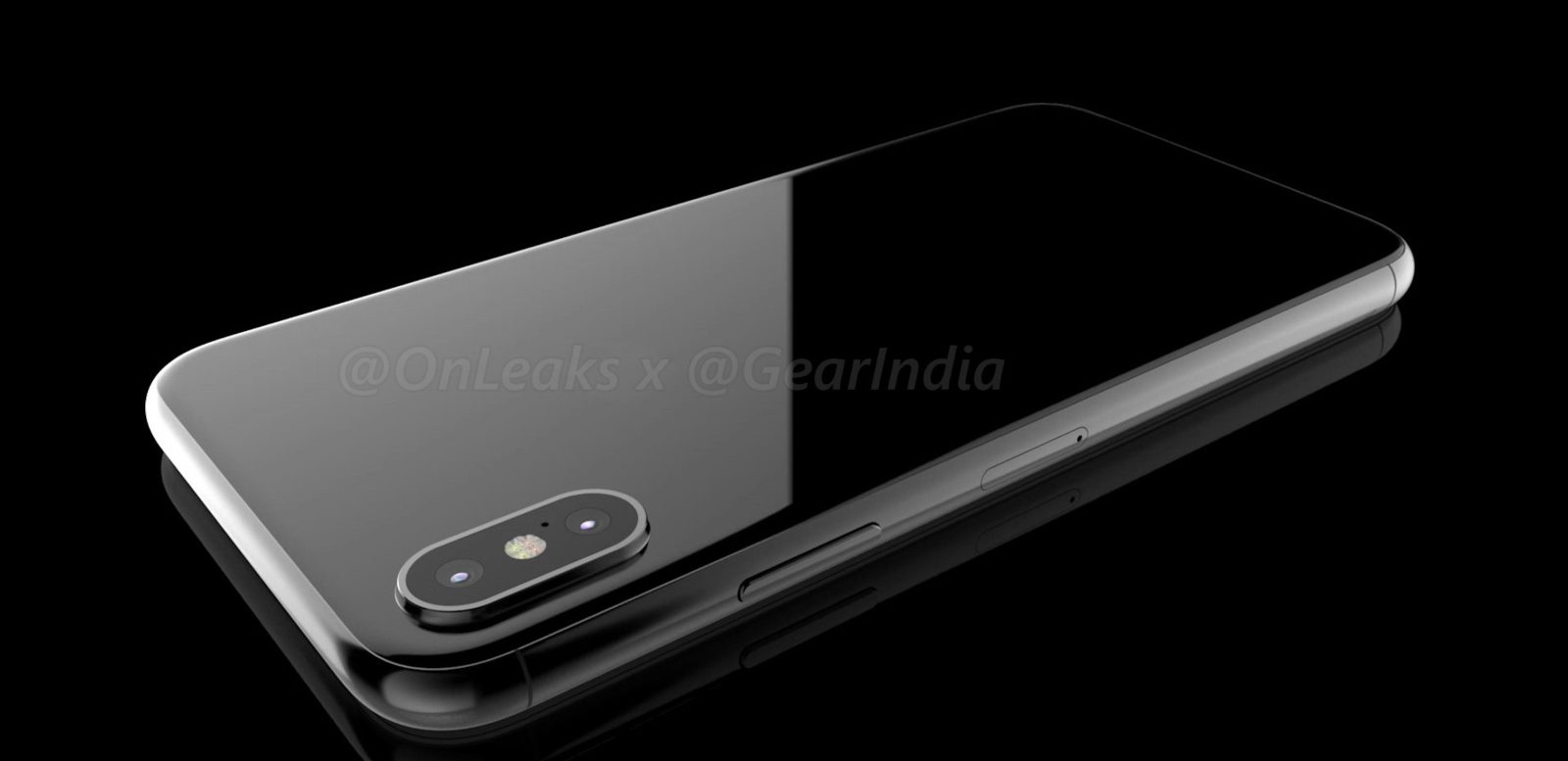 Iphone 8 Render achterkant | Onleaks