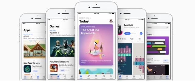 Veranderingen in de App Store