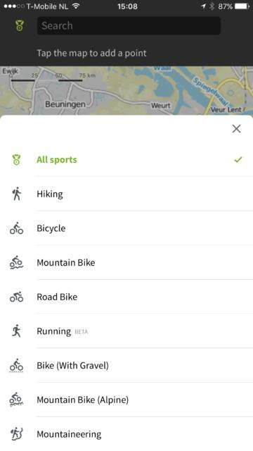 Fietsen, mountainbiken of wielrennen