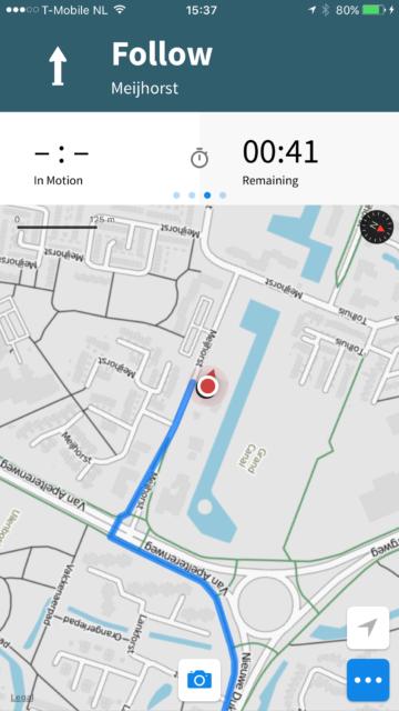 Fietsnavigatie iPhone