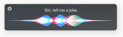 macOS High Sierra Siri