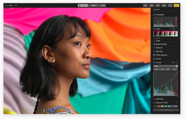 macOS High Sierra Foto's