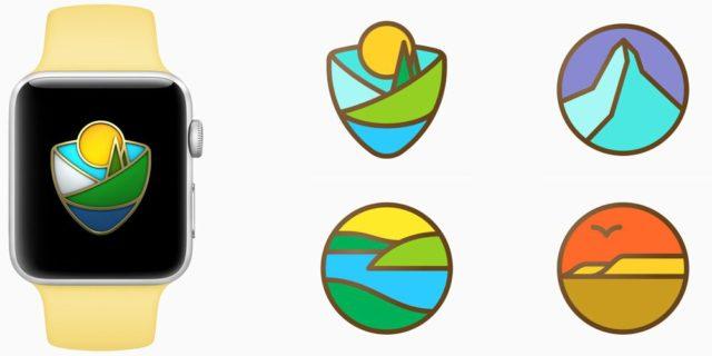 Apple Watch nationaal park