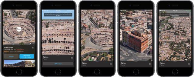 Flyover iOS 11