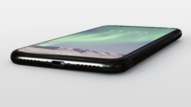 iPhone 8 concept onderkant