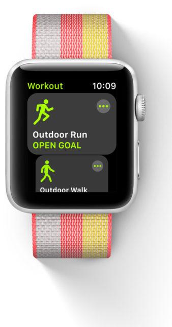 watchOS 4 workout