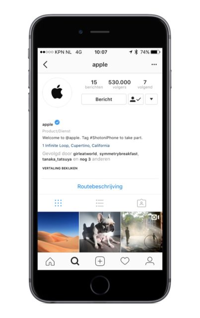 Apple Instragram