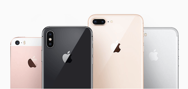 iPhone line-up 2017