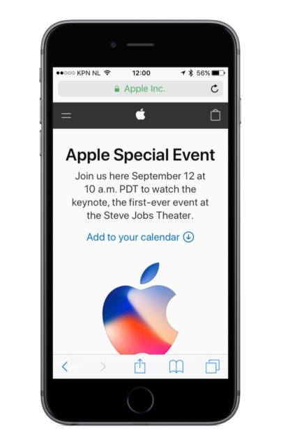 Apple Keynote Livestream