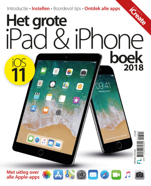 Het grote iPad en iPhone boek iOS 11