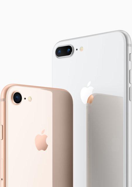 iPhone 8 en iPhone 8 Plus