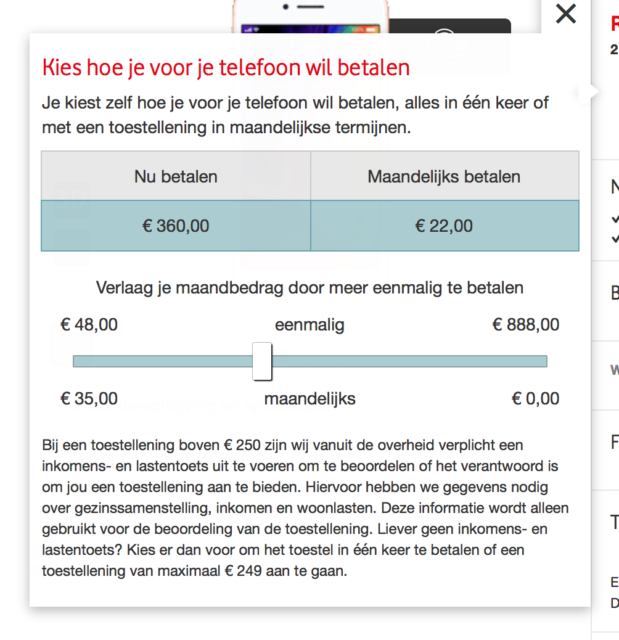 iPhone 8 abonnement Vodafone