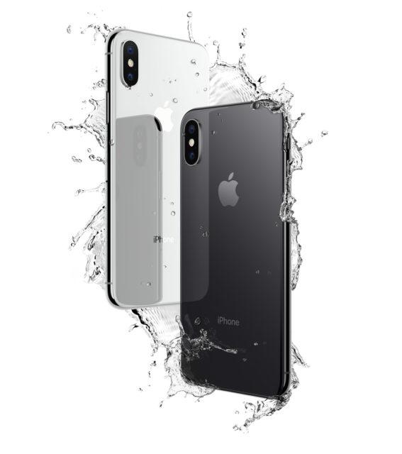 iPhone X zilver en spacegrijs