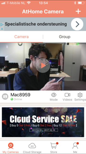 Mac als beveiligingscamera