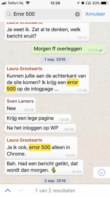 Nieuw iTip: Nieuwe zoekfunctie WhatsApp – chats doorzoeken - iCreate UK-35