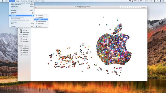 Gratis digitale kerstkaart maken op de Mac