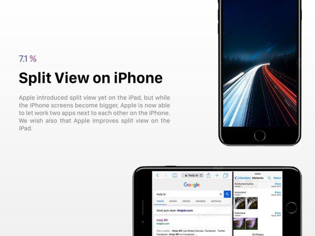 iOS 12 split view