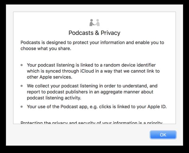 Podcast app macOS