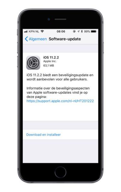 Iphone 5c nieuwe gebruiker installeren