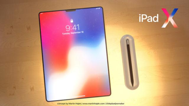 iPad X concept