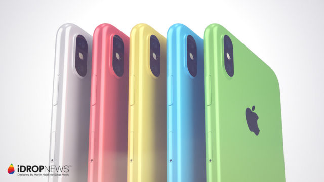 iPhone Xc kleuren
