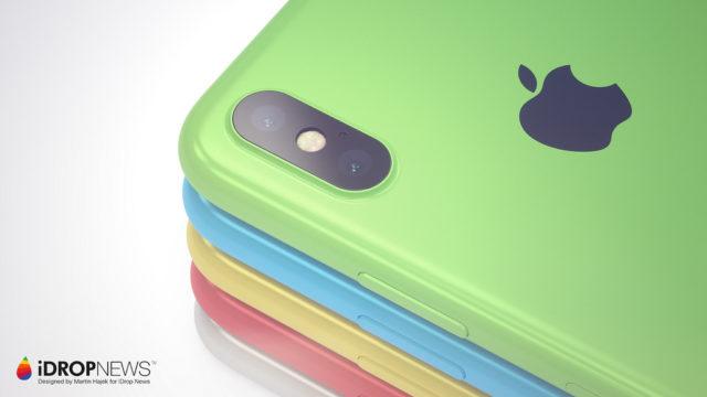 iPhone Xc kleur