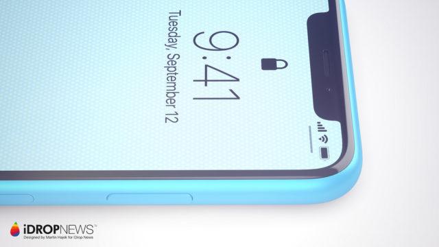 iPhone Xc blauw