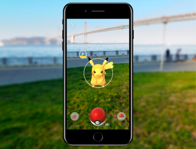 Pokémon Go augmented reality