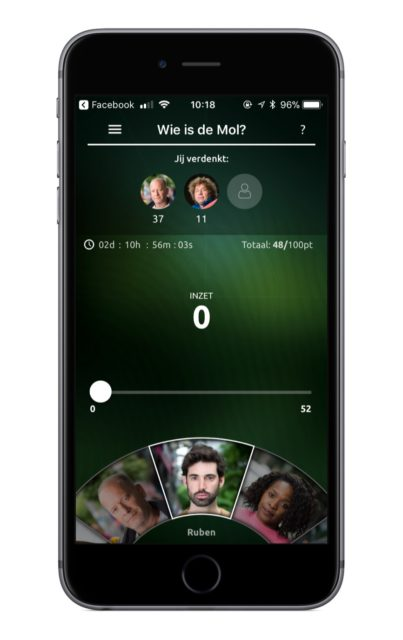 Wie is de mol app