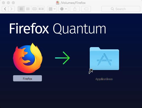 Firefox DMG