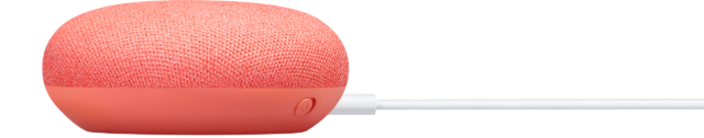 Google Home mini rood