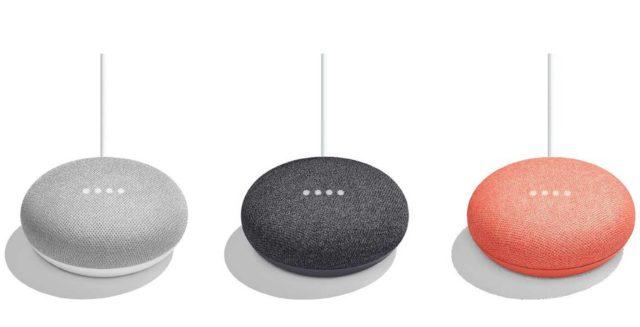 Google Home Mini kleuren