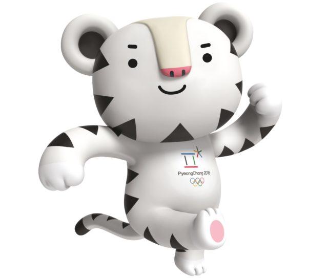 Mascotte olympische winterspelen 2018
