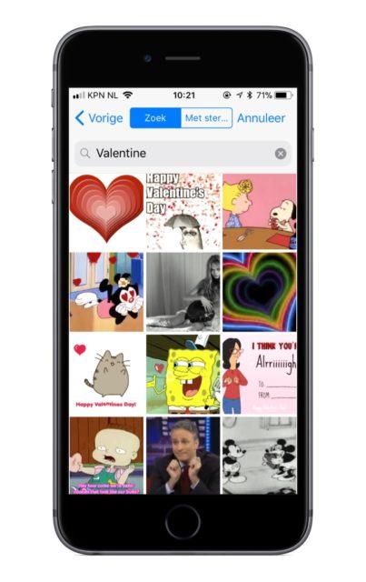 Valentijn filmpje whatsapp