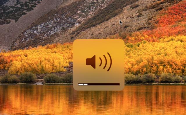 Mac volume aanpassen preciezer