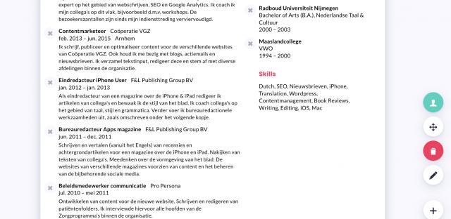LinkedIn omzetten naar CV Ceev