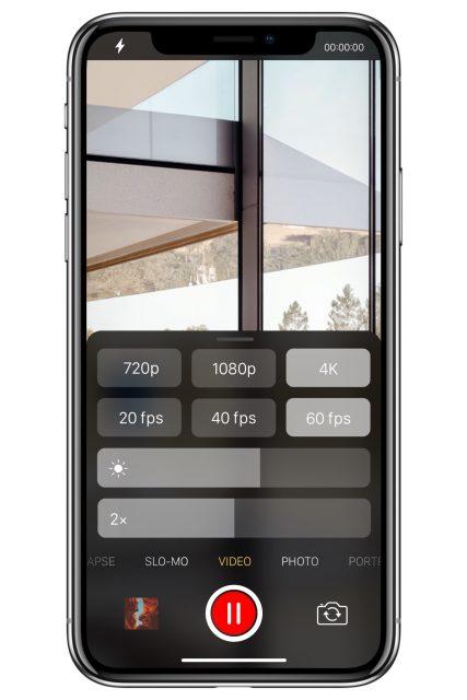 iOS 12 camera