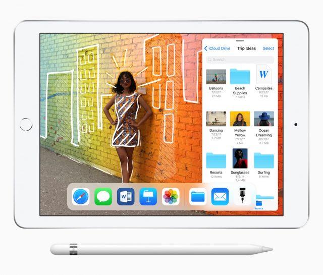 iPad 2018 met Apple Pencil