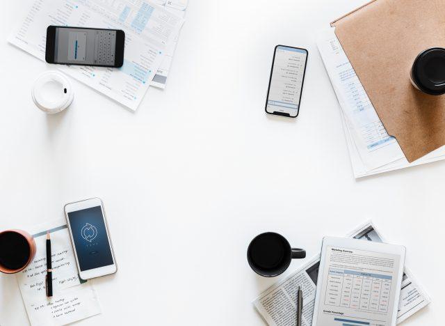 Smartphone gebruik op het werk