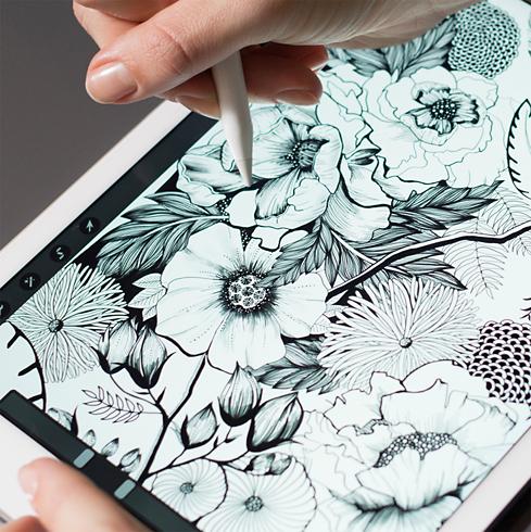 Apple Pencil tekenen
