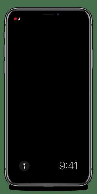 iOS 12 concept always-on display
