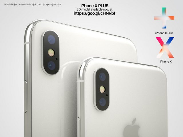 iPhone X Plus concept