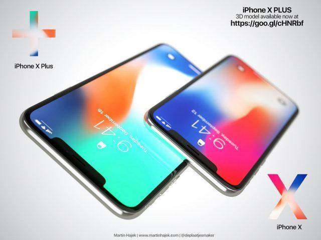 iPhone X Plus concept