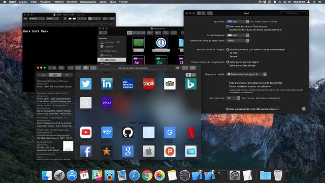 donkere modus mac