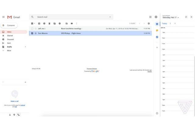 nieuwe Gmail 2