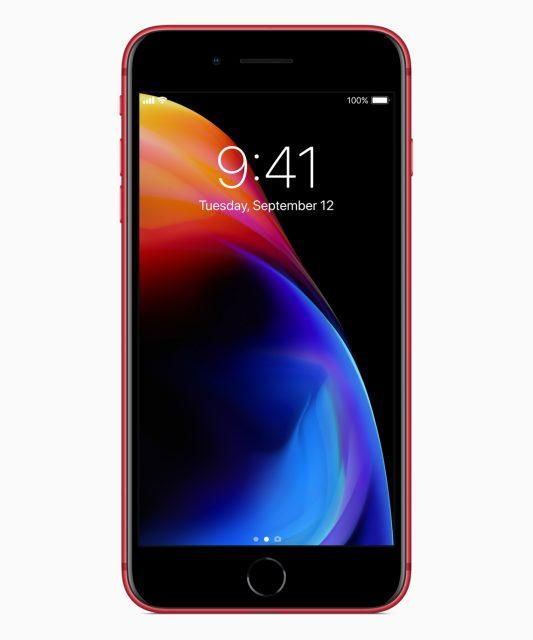 Rode iPhone voorkant