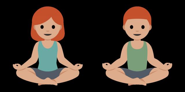 yoga emoji